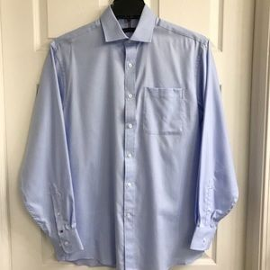 Tommy Hilfiger Blue Shirt M Medium 15/15.5 34/35